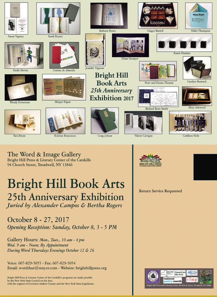 EXHIBIT - BOOK ARTS INVITATIONAL; OCTOBER 8, 3 - 5 PM; OCTOBER 8 - 27